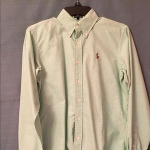 Ralph Lauren Classic Fit Size 6 Long Sleeve